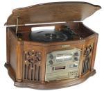 Музыкальный центр-ретро - винил, AM/FM, CD аудио